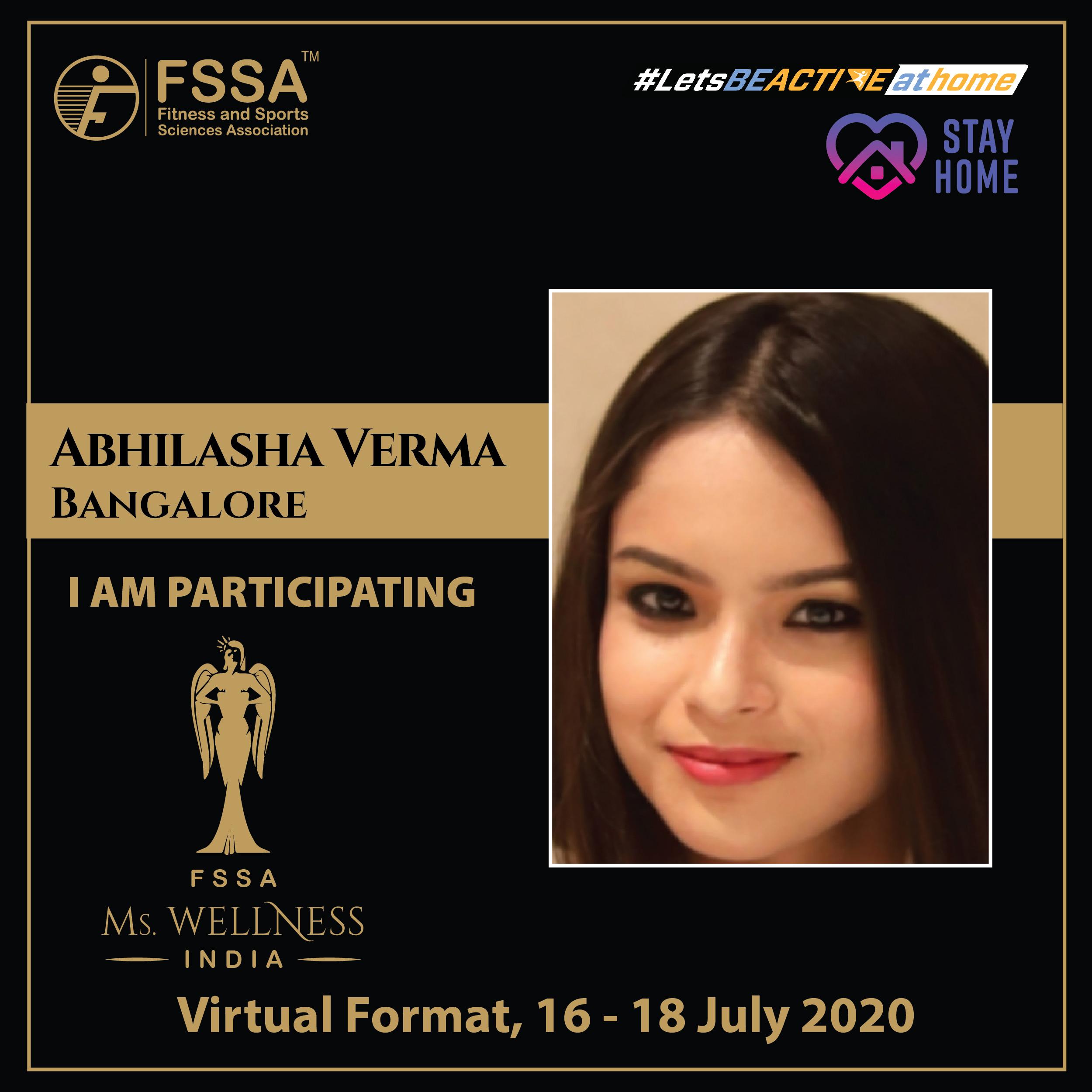 Abhilasha Verma - Bangalore