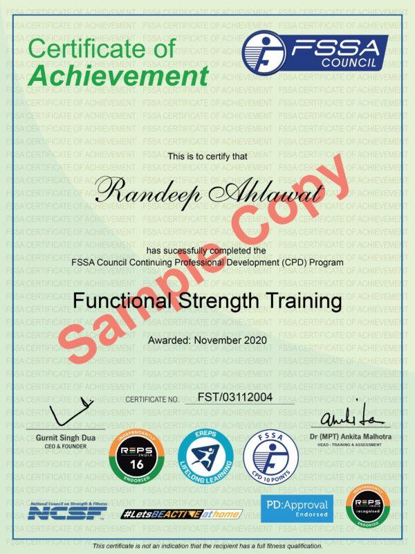 Functional Strength Cert